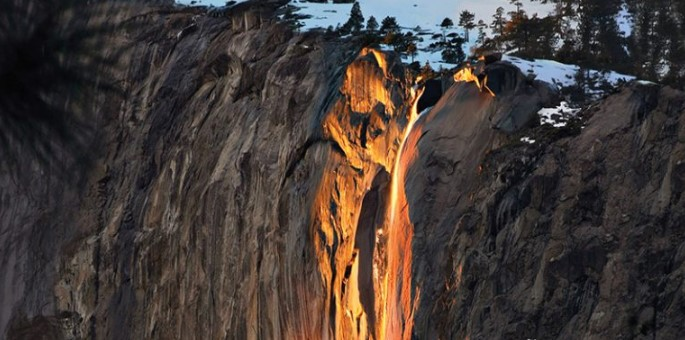 The waterfall that everyone wants to photograph